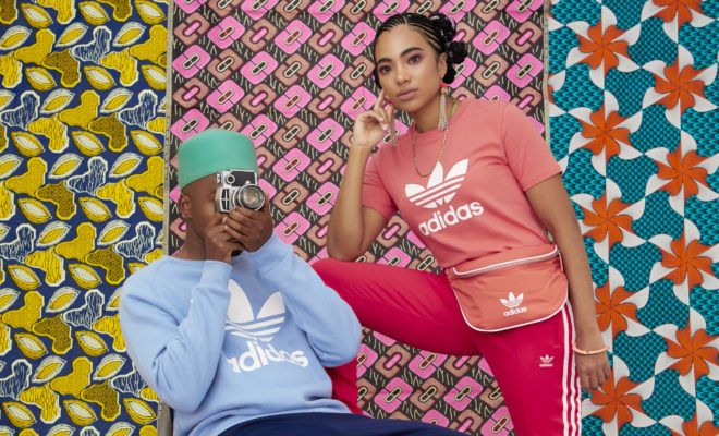 cheap for discount f76c7 c44df adidas Originals Launches SA adicolor Campaign   The plug