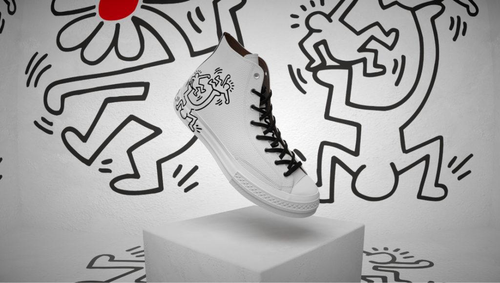 Keith Haring Converse